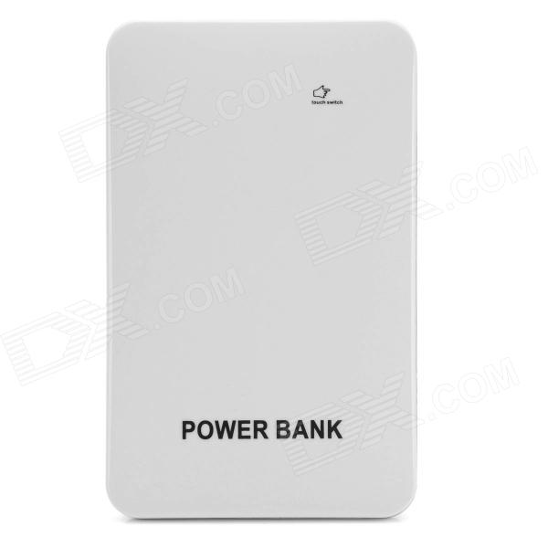 BP TB Touch Switch Dual-USB 6800mAh Li-polymer Battery Power Bank for IPHONE + IPAD + More bp ultra thin 6800mah touch switch dual usb mobile power source for iphone samsung htc