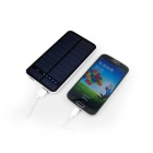 M-4819 12000mAh Dual-USB Solar Powered Portable Li-polymer Battery Power Bank for IPHONE + More