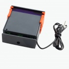 "HF 1.8 ""LCD Digital Thermostat Temperaturregler - Gray + Orange + Schwarz (12V)"