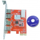 WBTUO LT109NS PCI-E to USB 3.0 Card Expansion Card for Desktop Riser