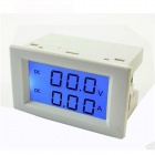 Tai Shen TS-3050 LCD 20V 10A Digital DC Current Voltage Measuring Voltmeter / Ammeter - White