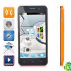 "UPOO U2 MTK6572 Dual-core Android 4.2.1 GSM Bar Phone w/ 4.5""screen, Wi-Fi, - White"