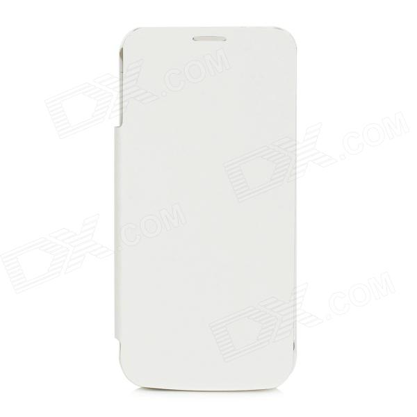 3800mAh Rechargeable Li-ion Battery Back Case w/ Cover for Samsung Galaxy S5 - White аккумулятор samsung eb bg900bbegru для samsung galaxy s5 li ion 2800 mah оригинальный
