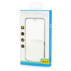 Affaire 3800mAh rechargeable Li-ion batterie de secours w / Cover pour Samsung Galaxy S5 - Blanc