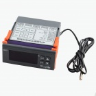 "HF 1.8 ""LCD-Digital-Thermostat Temperaturregler - Gray + Orange + Schwarz (24V)"