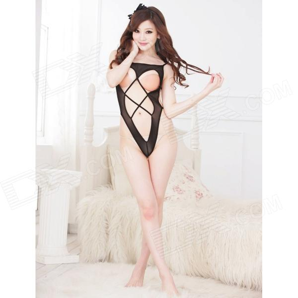 Women's Fashionable Sexy Mesh One-Piece Underwear
