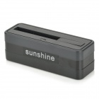 Sunshine Portable Battery Charger Station w/ 3.8V / 3150mAh Battery for Samsung Galaxy S5 - Black