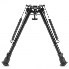 "9 ""aluminiumslegering Extend Bipod m / feste for AK / M40 Guns + Flere - Sort"