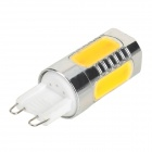 G9 COB 7.5W 350LM 3500K Warm White Light Bulb (85~265V)