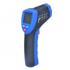 FLUS IR-806 Handheld Infrared Thermometer - Blue + Black (1 x 9V)