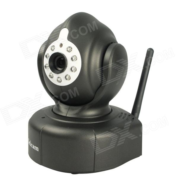 Sricam 1.0 MP 720P Wireless Indoor P2P Wi-Fi Baby Monitor Remote View Network Home IP Camera - Black