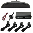 Leadway LED Display Voice Parking Radar Distance Detection System Rear Parking Sensor - Black