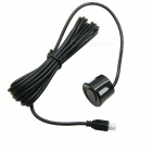 LED Display Voice Radar Distance Detection Rear Parking Sensor- Black