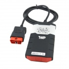 DELPHI CDP+ Bluetooth Car / Truck / Automotive Detector - Black + Red + Silver
