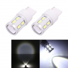 MZ T20 11W 12-SMD 5630 + Cree XP-E 820lm LED White Car Light Backup Signal / Indicator Lamp (12V)