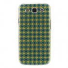 Kinston Blue Star Pattern Plastic Protective Hard Back Case Cover for Samsung Galaxy S3 i9300