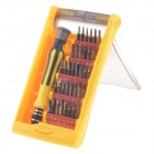 IRON SPIDER JK-6090B 37-in-1 Multi-Purpose Precision Screwdriver Set - Yellow + Black