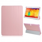 Pandaoo PU Leather Case Cover Stand for Samsung Galaxy Note 10.1 P600 P601 2014 Edition - Pink