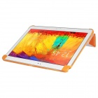 Pandaoo PU Leather Case Cover Stand for Samsung Galaxy Note 10.1 P600 P601 2014 Edition - Orange