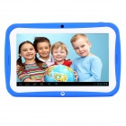 "R70AC 7"" IPS Android 4.2.2 Dual Core Kids Tablet PC w/ 512MB RAM / 8GB ROM - Blue + White"