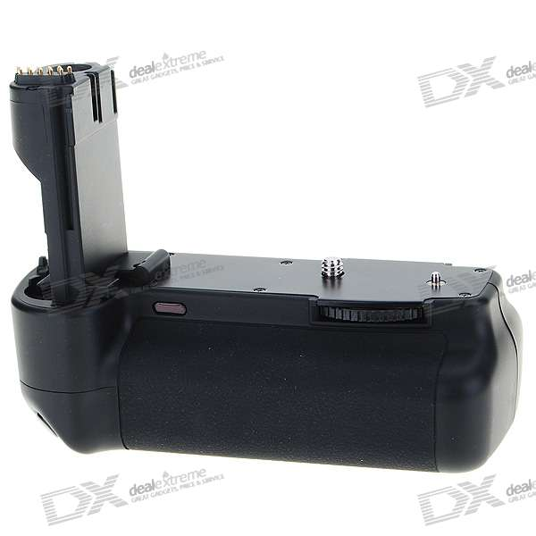 Vertical External Battery Grip with IR Remote Controller for Canon 20D/30D/40D/50D DSLR bp 208 compatible 850mah battery pack for canon mvx1sidc10 dc20 more