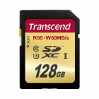 Transcend 128GB High Speed 10 UHS-3 Flash Memory Card 95/60 MB/s TS128GSDU3