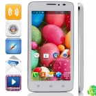 "G2(C592A) MTK6572 Dual-Core Android 4.2.2 WCDMA Bar Phone w/ 5.0"", 4GB ROM, GPS, FM - White"