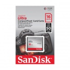 SanDisk Ultra 16GB CompactFlash Card 50MB/s SDCFHS - 016G