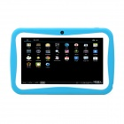 "iRulu 7"" Android 4.0 Kids Tablet PC w/ 512MB RAM, 8GB ROM, Dual Camera, Keyboard Case - Sky Blue"