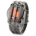 ShiFenMei D1148 Men's Fashionable Water Resistant Zinc Alloy Wristband Digital Watch (1 x CR2032)