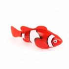 Flash ROBO Flash Electric Pet Fish Toy - Red + White (2 x L1154)