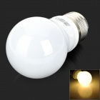 ADDVIVA A45-01 4W E27 316LM 3000K 3328 SMD LED Warm White Light Bulb - White + Silver (AC 220~240V)
