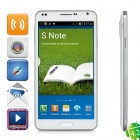 "M-HORSE WCDMA Android 4.2.2 Dual-core Smart Phone w/ 5.5"" Screen, Wi-Fi and GPS - White"