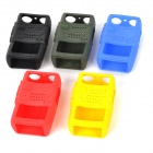 Cubierta protectora de silicona caso para Interphone del Walkietalkie - multicolor (5 PCS)