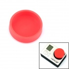 PANNOVO Professional Protective Silicone Lens Cover Cap Set for Gopro Hero 4/ 3 / 3+ - Red