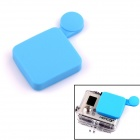 PANNOVO Professional Protective Silicone Lens Cover Set for GoPro Hero 3+ - Blue