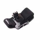 NEOpine G-410 Elasticity Nylon Sport Camera Wristband Mount for GoPro Hero 2/3/3+/SJ4000 - Black