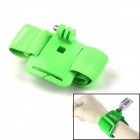 NEOpine G-410-G Elasticity Nylon Sport Camera Wristband Mount for GoPro Hero 2/3/3+/SJ4000 - Green