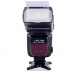 TRIOPO TR-960III Universal 2.4GHz Wireless Speedlight for Nikon / Canon DSLR - Black (4 x AA)