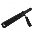 Marsing Security Cree XP-E Q5 220lm 3-Mode White Zooming Mace Defense Tactical Flashlight - Black