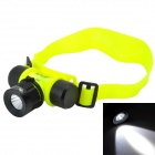 Marsing LED 3-Mode 900lm White 90 Degree Zoomable Diving Headlamp - (1 x 18650 / 3 x AAA)