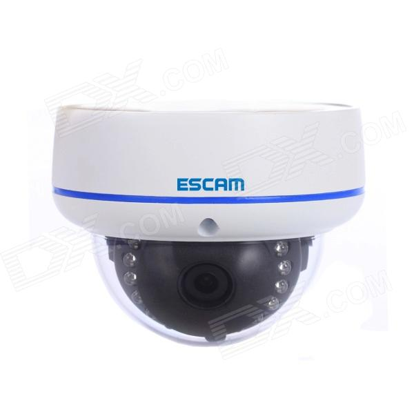 ESCAM Q645R Onvif Waterproof 720P CMOS 3.6mm Lens Network IP Camera W/ 15-IR LED - White (AU Plug) instreet instreet in011amewx16
