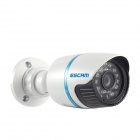 ESCAM Q630M Onvif Waterproof 720P CMOS 6mm Lens Network IP Camera w/ 24-IR LED - White (UK Plug)