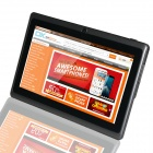 "LXK A23 7.0"" dual-core android 4.2.2 tablet PC w / 512MB ram, 4GB rom, wi-fi - svart"