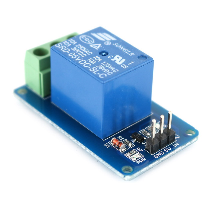 V channel single relay module for arduino high level