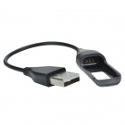 CHEERLINK USB 2.0 Data Sync / Charging Cable for Fitbit Flex - Black (21cm)