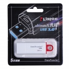 Kingston DTIG4 USB 3.0 Flash Drive - Red + White (32GB)