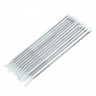 Stainless Steel Acne Remover Long Needles - Silver (12 PCS)