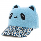 FenLu Children's Cute Panda Style Baseball Cap Hat - Blue