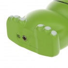 Creative Fashion Lovely Vocalise Frog Shaped Butane Jet Lighter - Green